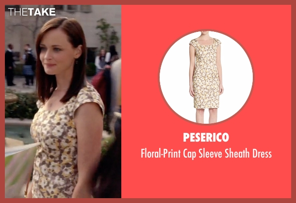 Peserico dress from Gilmore Girls: A Year in the Life seen with Rory Gilmore (Alexis Bledel)