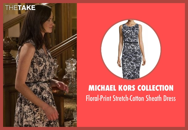 Michael Kors Collection white dress from Gilmore Girls: A Year in the Life seen with Rory Gilmore (Alexis Bledel)