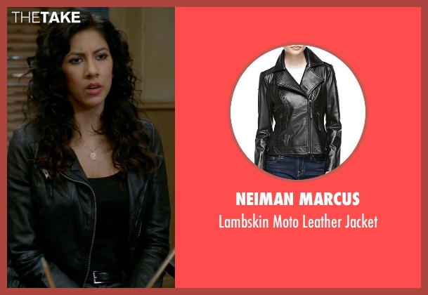 Neiman Marcus black jacket from Brooklyn Nine-Nine seen with Rosa Diaz  (Stephanie Beatriz)