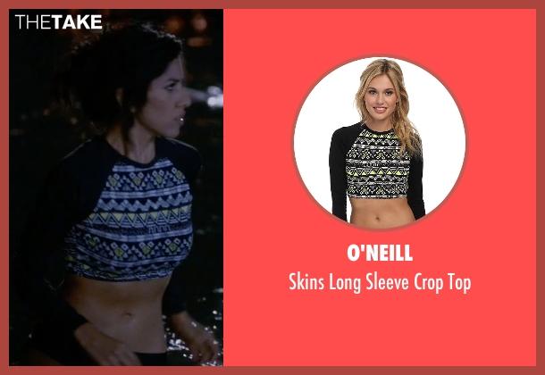 O'Neill black top from Brooklyn Nine-Nine seen with Rosa Diaz  (Stephanie Beatriz)