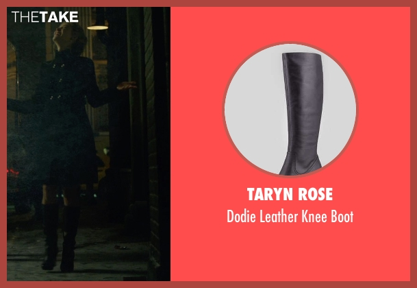 Taryn Rose black boot from Gone Girl seen with Rosamund Pike (Amy Dunne)
