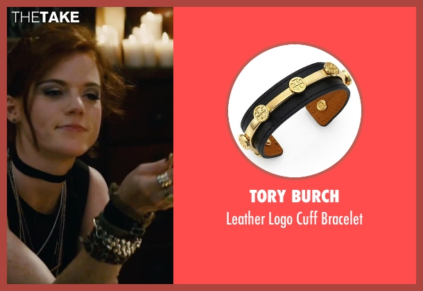 Tory Burch black bracelet from The Last Witch Hunter seen with Rose Leslie (Chloe)