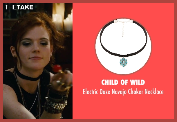 Child of Wild black necklace from The Last Witch Hunter seen with Rose Leslie (Chloe)