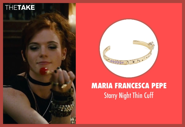 Maria Francesca Pepe gold cuff from The Last Witch Hunter seen with Rose Leslie (Chloe)