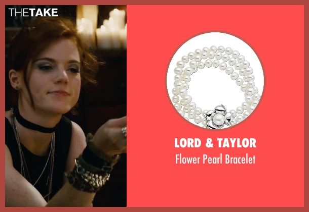 Lord & Taylor silver bracelet from The Last Witch Hunter seen with Rose Leslie (Chloe)