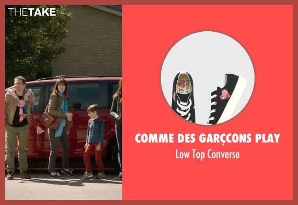Comme Des Garçcons Play black converse from Poltergeist seen with Rosemarie DeWitt (Amy Bowen)