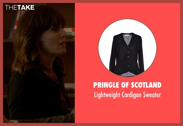 Pringle of Scotland black sweater from Poltergeist seen with Rosemarie DeWitt (Amy Bowen)