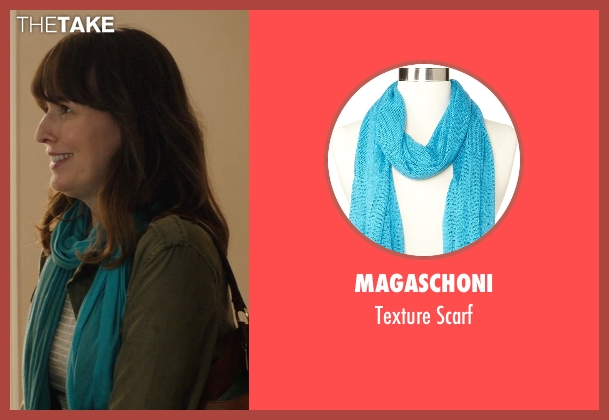 Magaschoni blue scarf from Poltergeist seen with Rosemarie DeWitt (Amy Bowen)