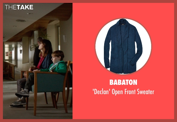 Babaton blue sweater from Poltergeist seen with Rosemarie DeWitt (Amy Bowen)