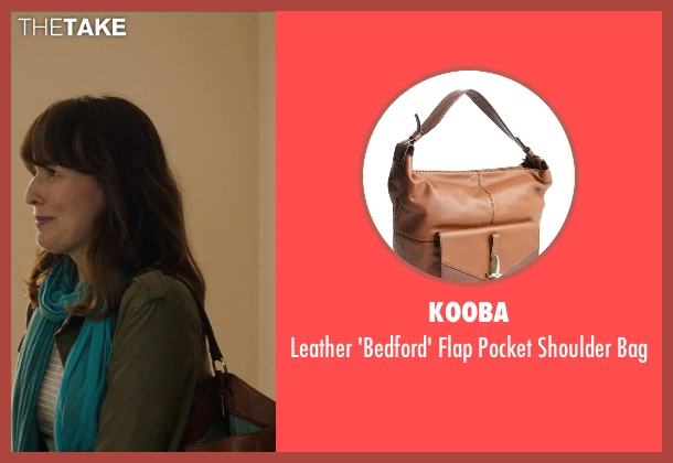 Kooba brown bag from Poltergeist seen with Rosemarie DeWitt (Amy Bowen)