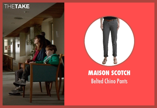 Maison Scotch gray pants from Poltergeist seen with Rosemarie DeWitt (Amy Bowen)