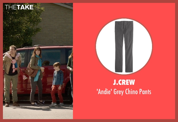 J.Crew gray pants from Poltergeist seen with Rosemarie DeWitt (Amy Bowen)
