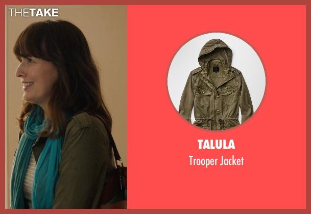 Talula green jacket from Poltergeist seen with Rosemarie DeWitt (Amy Bowen)
