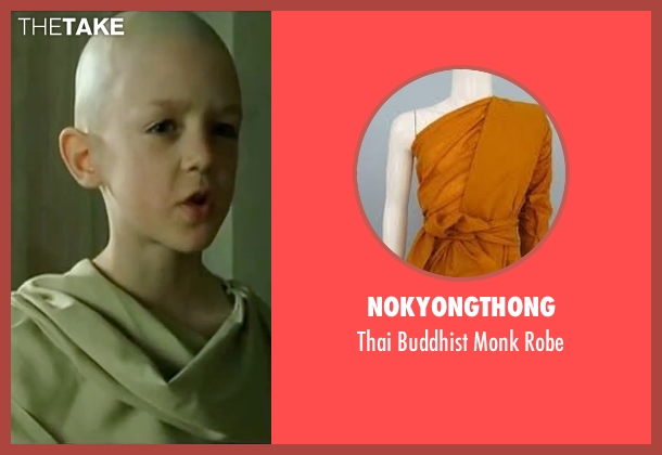 Nokyongthong white robe from The Matrix seen with Rowan Witt (Spoon Boy)