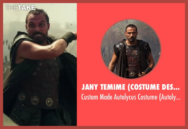 Jany Temime (Costume Designer) costume from Hercules seen with Rufus Sewell (Autolycus)