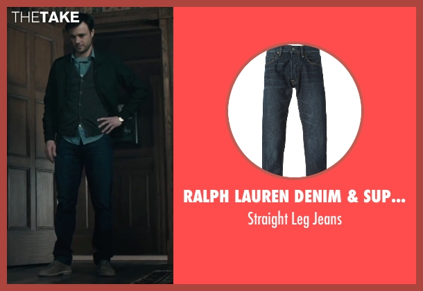 Ralph Lauren Denim & Supply blue jeans from The Boy seen with Rupert Evans (Malcolm)