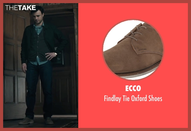 Ecco brown shoes from The Boy seen with Rupert Evans (Malcolm)