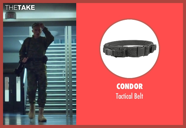 Condor black belt from Hitman: Agent 47 seen with Rupert Friend (Agent 47)