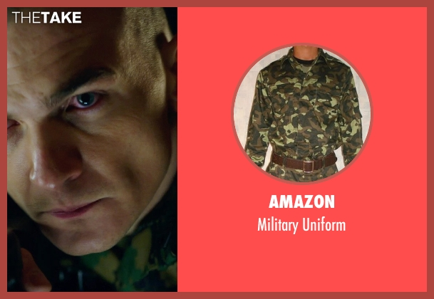 Amazon uniform from Hitman: Agent 47 seen with Rupert Friend (Agent 47)