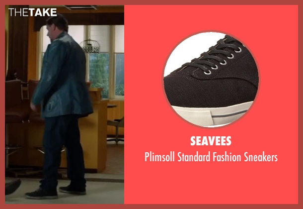 SeaVees black sneakers from The Nice Guys seen with Russell Crowe (Jackson Healy)