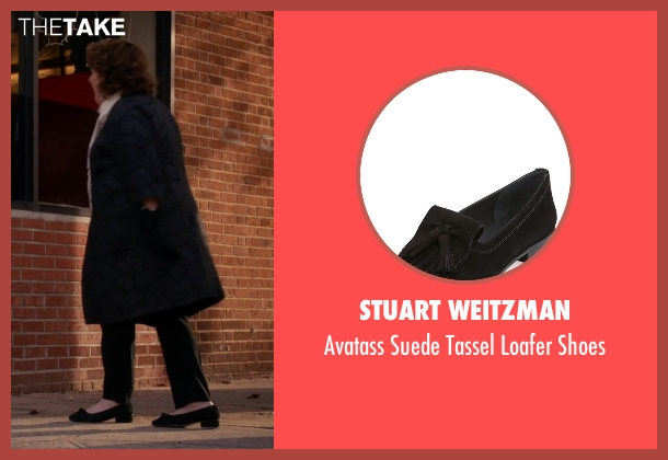 Stuart Weitzman black shoes from The Good Wife seen with Ruth Eastman (Margo Martindale)