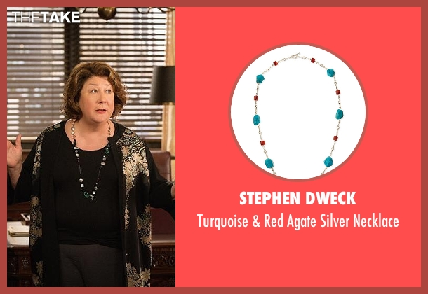 Stephen Dweck necklace from The Good Wife seen with Ruth Eastman (Margo Martindale)