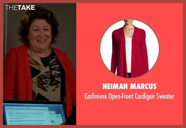 Neiman Marcus red sweater from The Good Wife seen with Ruth Eastman (Margo Martindale)