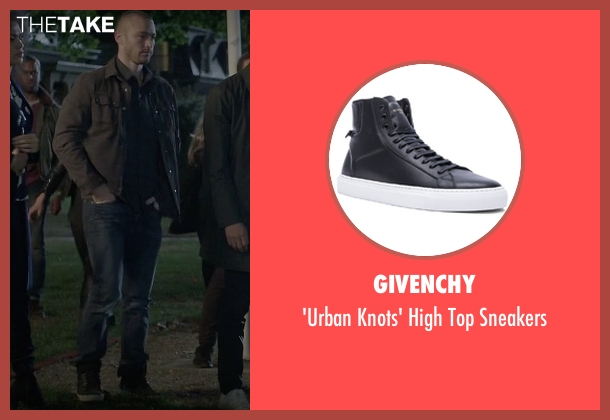 Vans black sneakers from Quantico seen with Ryan Booth (Jake McLaughlin)