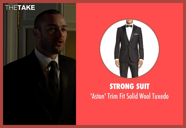 Strong Suit black tuxedo from Quantico seen with Ryan Booth (Jake McLaughlin)