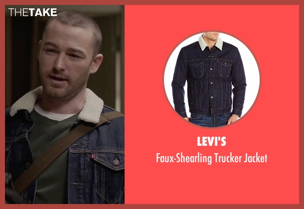 Levi's blue jacket from Quantico seen with Ryan Booth (Jake McLaughlin)