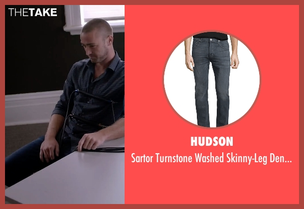 Hudson blue jeans from Quantico seen with Ryan Booth (Jake McLaughlin)