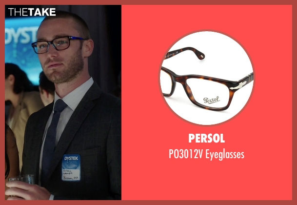 Persol eyeglasses from Quantico seen with Ryan Booth (Jake McLaughlin)