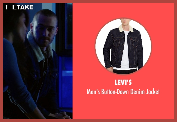 Levi's jacket from Quantico seen with Ryan Booth (Jake McLaughlin)