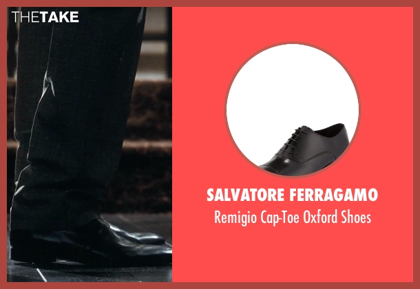 Salvatore Ferragamo	 black shoes from Crazy, Stupid, Love. seen with Ryan Gosling (Jacob Palmer)