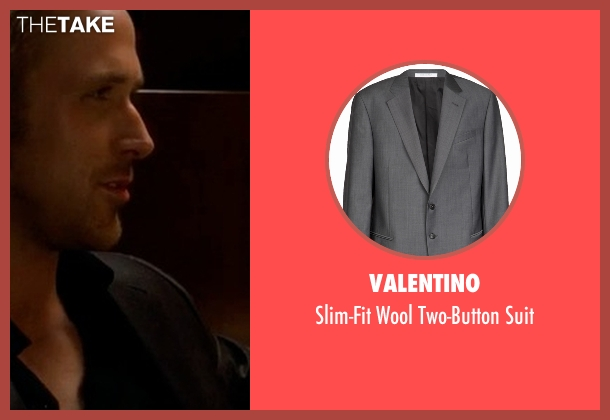 Valentino black suit from Crazy, Stupid, Love. seen with Ryan Gosling (Jacob Palmer)
