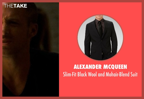 Alexander McQueen black suit from Crazy, Stupid, Love. seen with Ryan Gosling (Jacob Palmer)