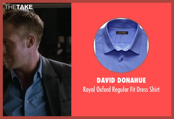 David Donahue blue shirt from Crazy, Stupid, Love. seen with Ryan Gosling (Jacob Palmer)
