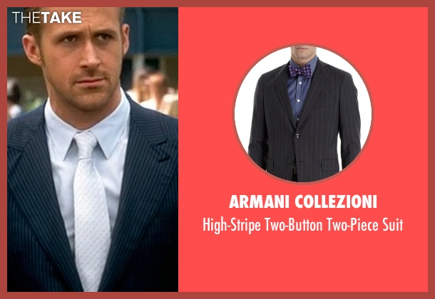 Armani Collezioni blue suit from Crazy, Stupid, Love. seen with Ryan Gosling (Jacob Palmer)