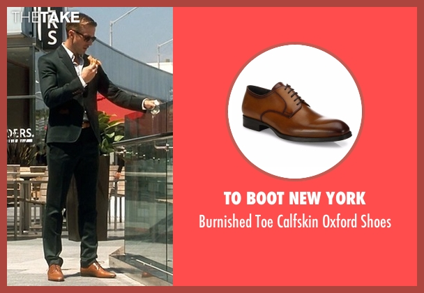 To Boot New York brown shoes from Crazy, Stupid, Love. seen with Ryan Gosling (Jacob Palmer)