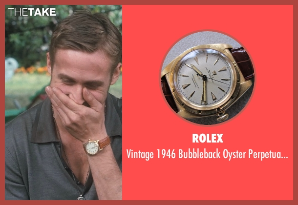 Rolex brown watch from Crazy, Stupid, Love. seen with Ryan Gosling (Jacob Palmer)