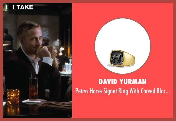 David Yurman gold gold from Crazy, Stupid, Love. seen with Ryan Gosling (Jacob Palmer)