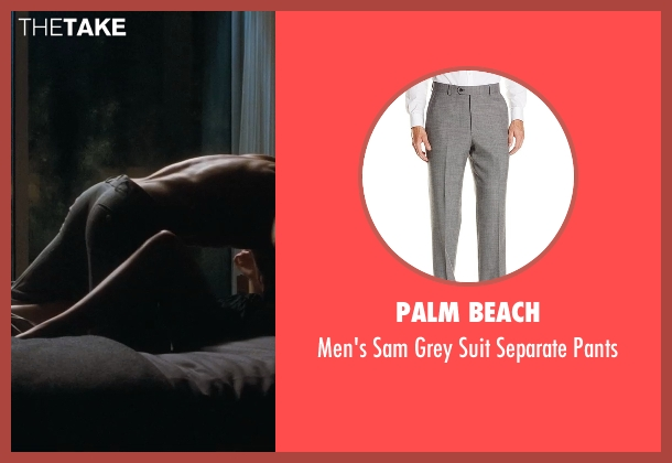 Palm Beach gray pants from Crazy, Stupid, Love. seen with Ryan Gosling (Jacob Palmer)
