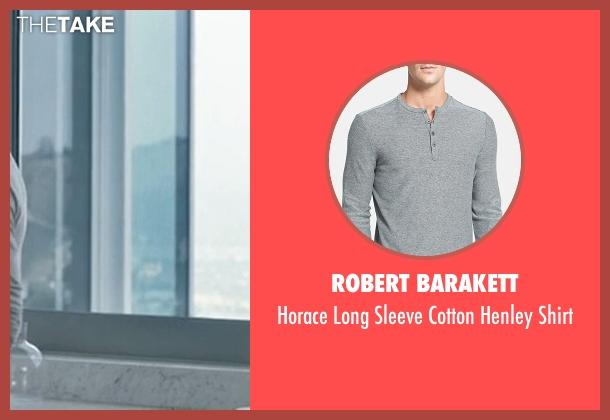 Robert Barakett gray shirt from Crazy, Stupid, Love. seen with Ryan Gosling (Jacob Palmer)