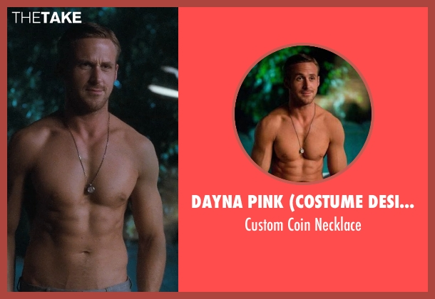 Dayna Pink (Costume Designer) necklace from Crazy, Stupid, Love. seen with Ryan Gosling (Jacob Palmer)