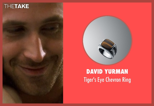 David Yurman silver ring from Crazy, Stupid, Love. seen with Ryan Gosling (Jacob Palmer)