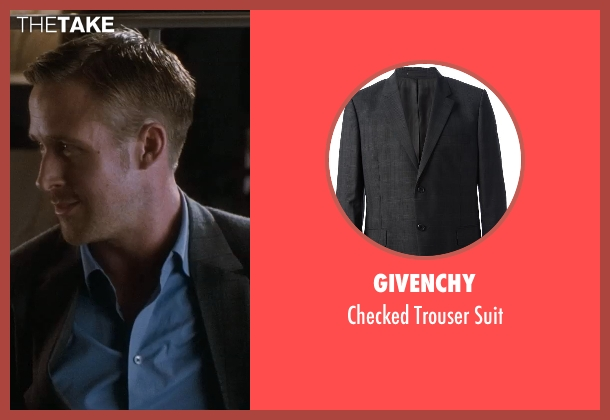 Givenchy suit from Crazy, Stupid, Love. seen with Ryan Gosling (Jacob Palmer)