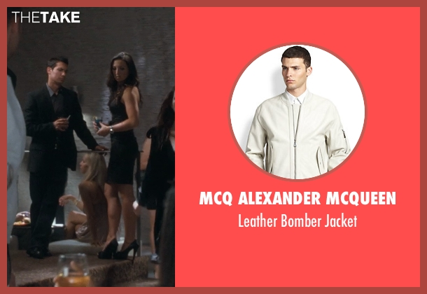 McQ Alexander McQueen white jacket from Crazy, Stupid, Love. seen with Ryan Gosling (Jacob Palmer)