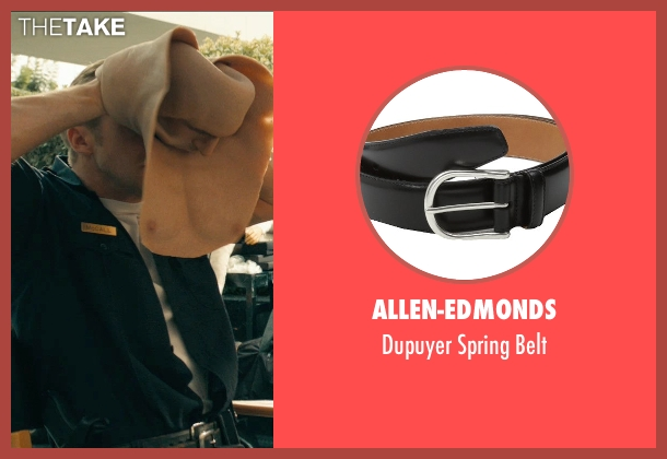Allen-Edmonds black belt from Drive seen with Ryan Gosling (Driver)