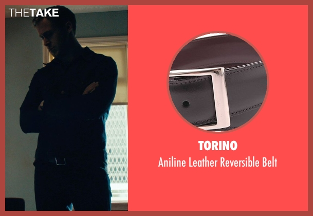 Torino black belt from Drive seen with Ryan Gosling (Driver)