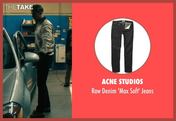 Acne Studios black jeans from Drive seen with Ryan Gosling (Driver)